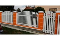 PVC panel za ograde TIP75V VAL